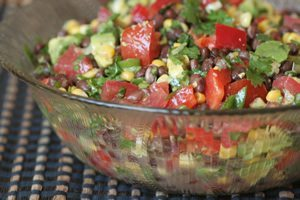 Black Bean Corn Mexican Salad