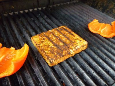 Grilled Tempeh Slab