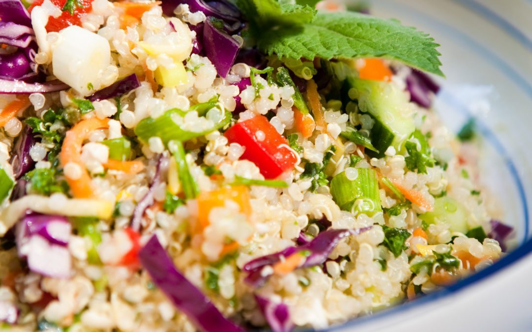 "Quinoa Tabouli ""Full-Meal-Deal"" Salad"