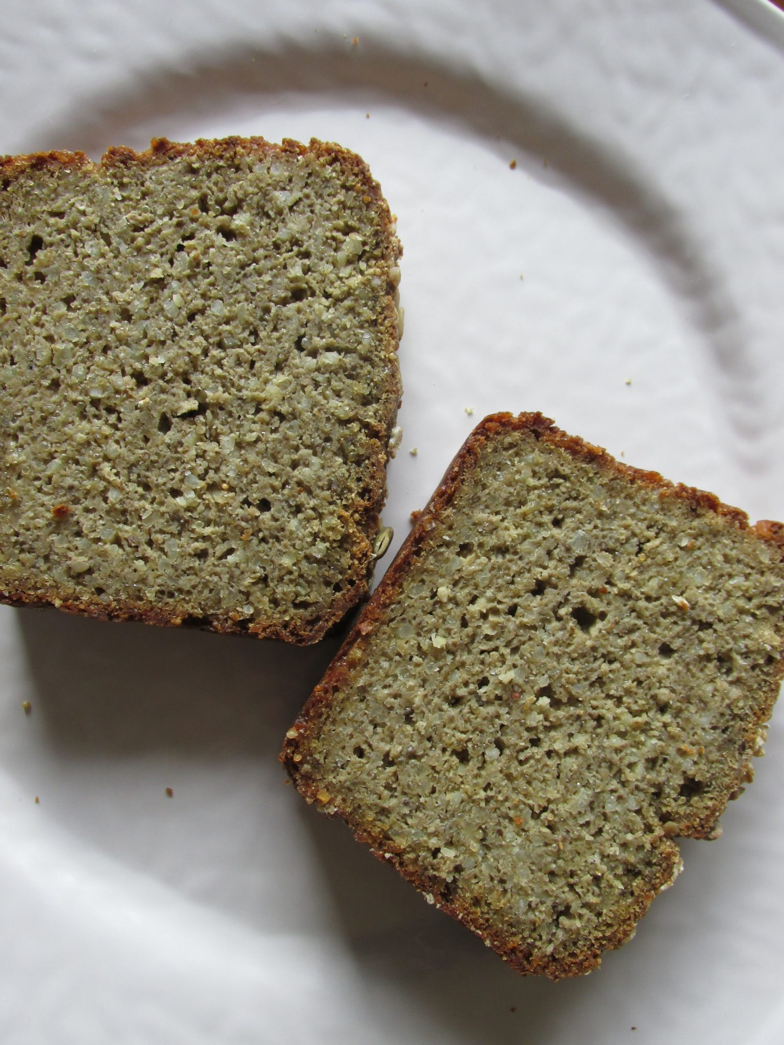 Gluten-free Vegan Rustic Bread   Victoria Laine   Whole-Food Nutrition