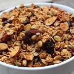 Nutty Ginger-Zing Granola {oil-free}