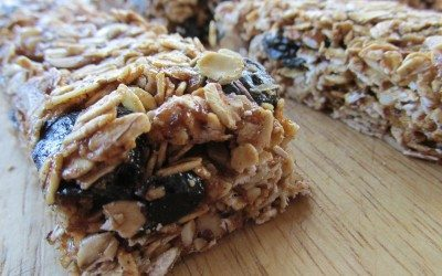 No-Bake Granola Bars {gluten-free + vegan}