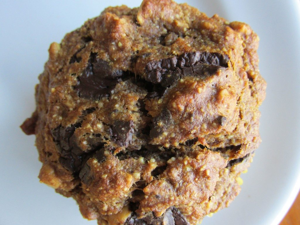 Peanut Banana Monkey Muffins {gluten-free, vegan} photo