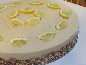 Non-Bake Pie Crust w/ Lemon Filling