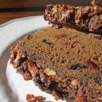 Pumpkin Molasses Loaf  {gluten-free + vegan}