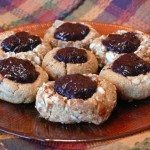 Jam-filled Thumbprint Cookies {gluten-free + vegan}
