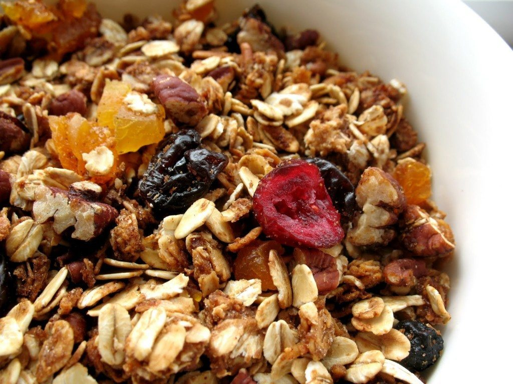 Nutty Ginger Granola w/ Dried Fruit image