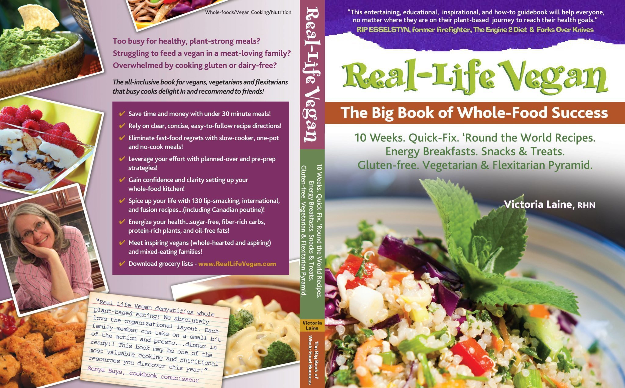 Real life vegan the big book of whole food success victoria real life vegan the big book of whole food success forumfinder Gallery