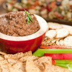 Zesty BBQ Black Bean Dip