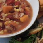 Mexican Minestrone {slow-cooker option}